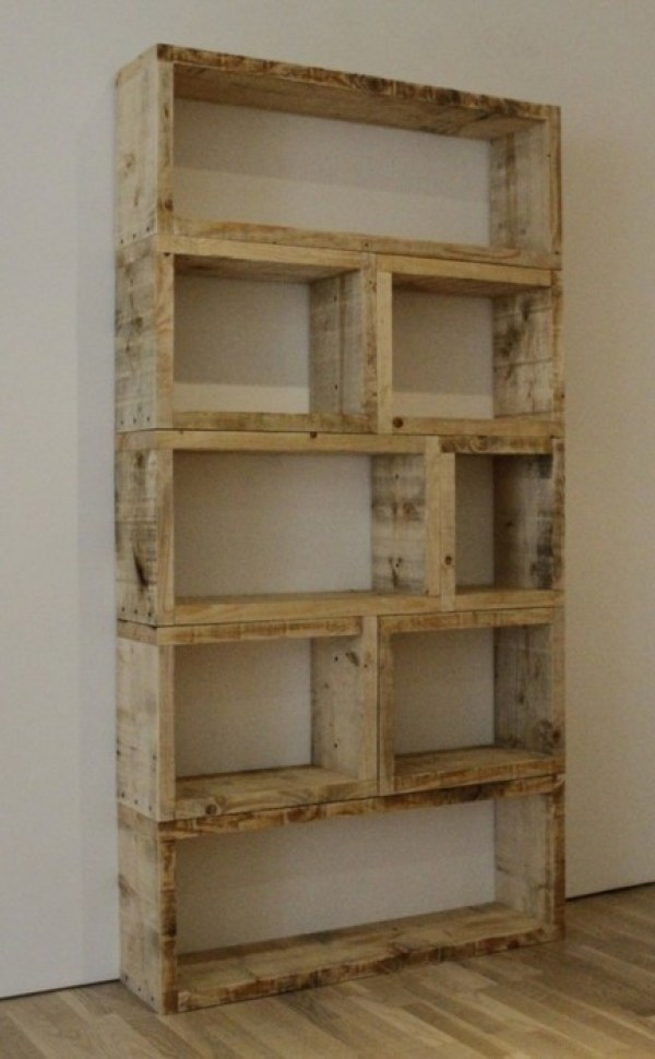 DIY shelving project