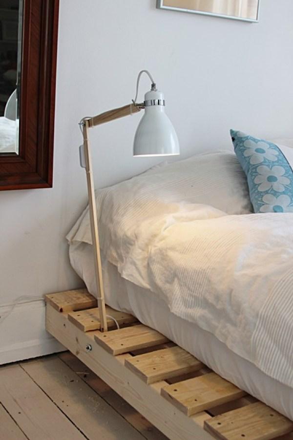 DIY pallet bed instructions