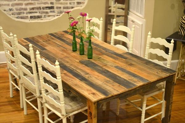 DIY wooden kitchen furniture