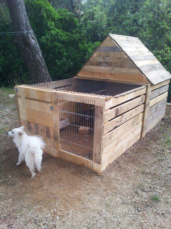Easy DIY pallet home ideas