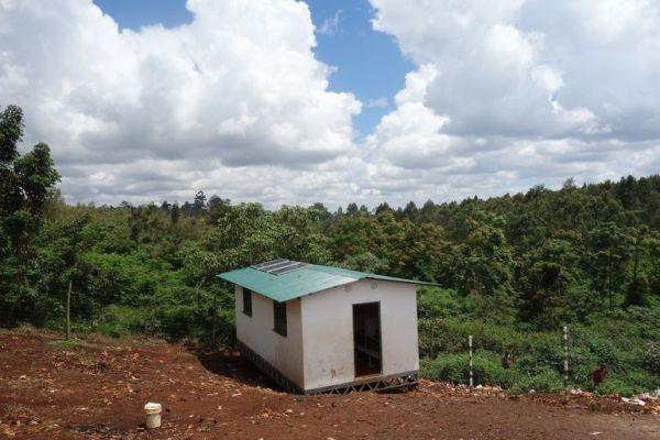 solar classroom built by Aleutia