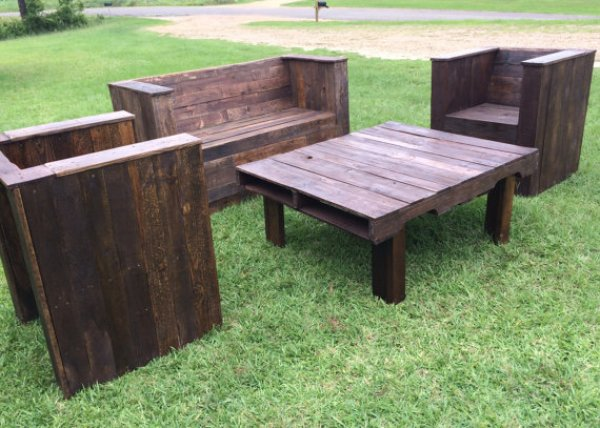Build your own patio furniture