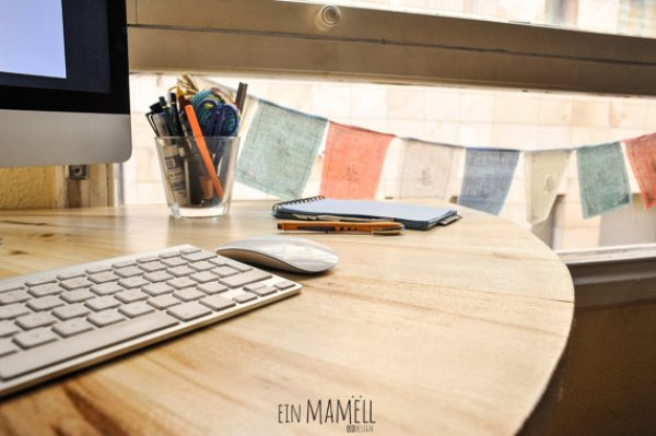 easy wooden pallets desk ideas