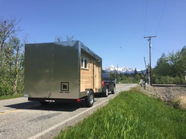 DIY outdoor trailer