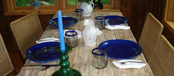 easy Homemade dining table