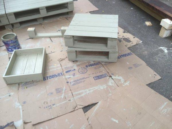 DIY Free pallet bed plans