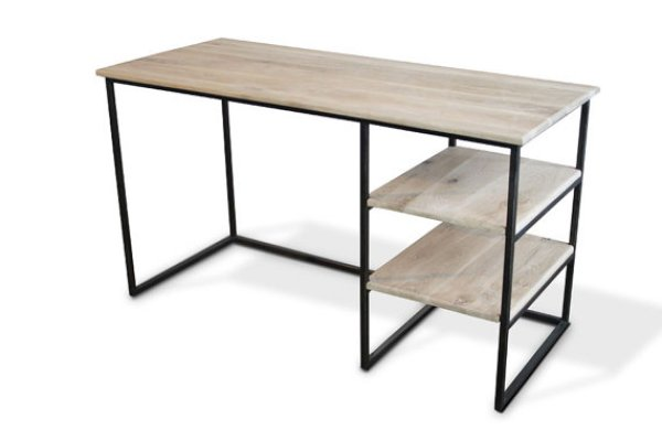 building a wood desk at home