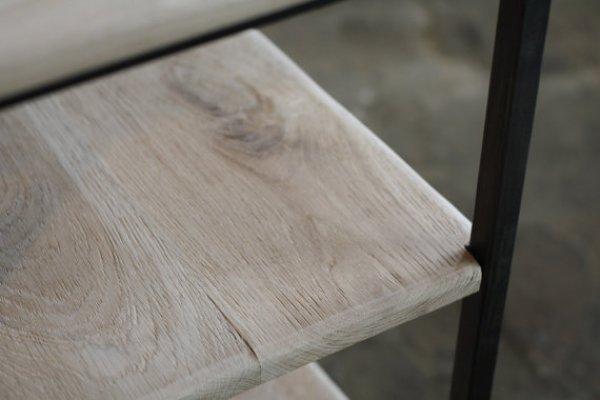 DIY Rustic wood desk