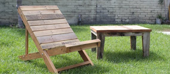 Easy DIY pallet outdoor projects