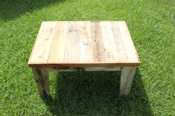 DIY easy outdoor pallet project