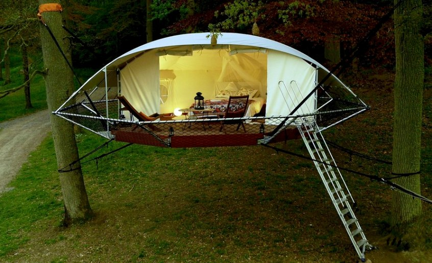 easy to install outdoor shelter