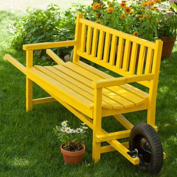 homemade patio pallet furniture