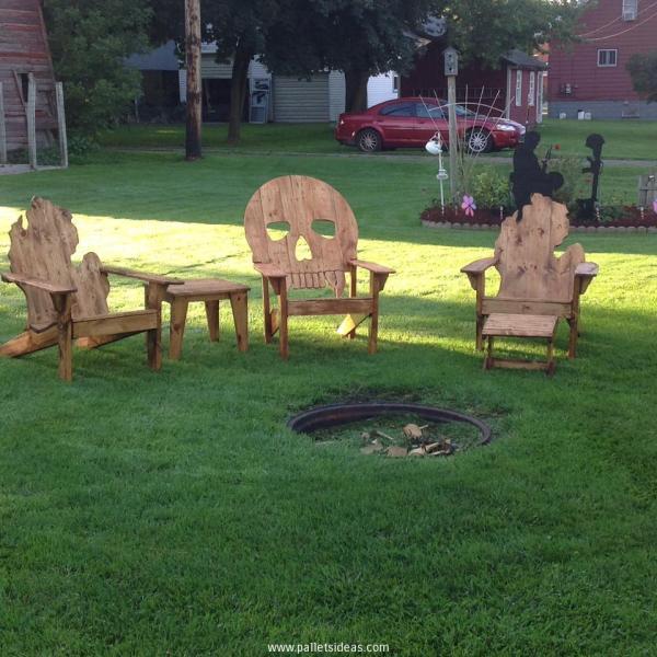 DIY pallet furniture instructions