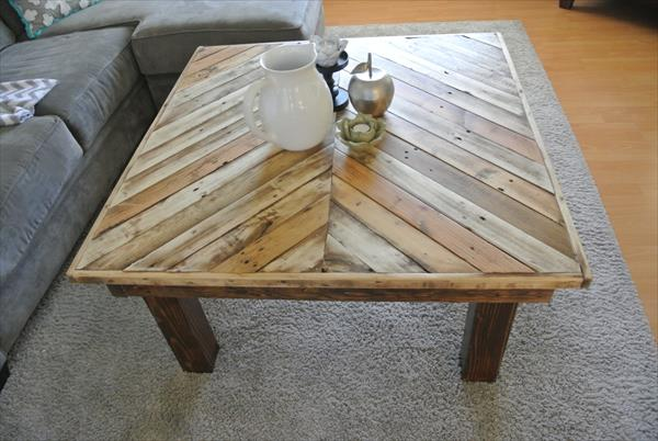Living room coffee table