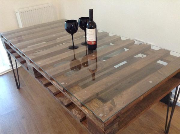 DIY Wine on Table
