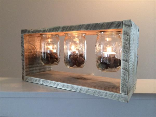 DIY Jar Lamps