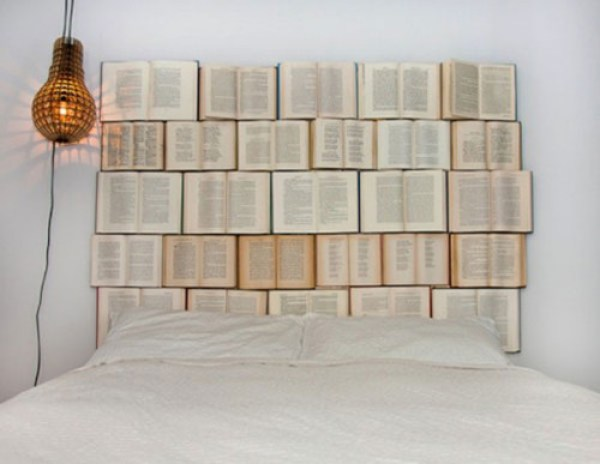 DIY Wall Of Books