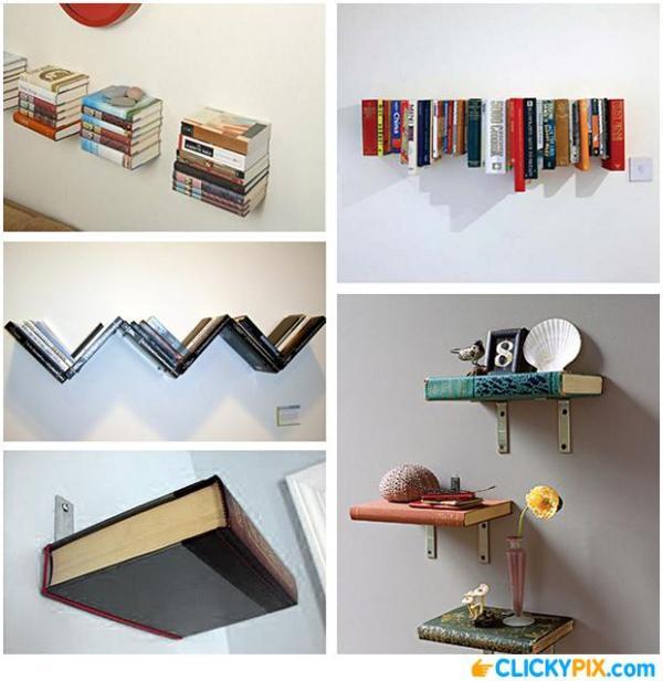 DIY Book Shelves