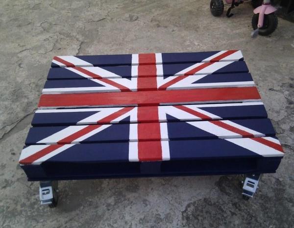 British Pallet Table designs