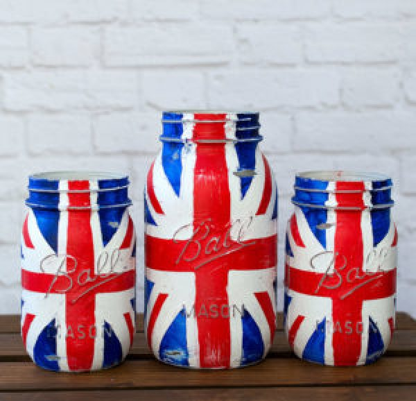 Jar Flag Craft