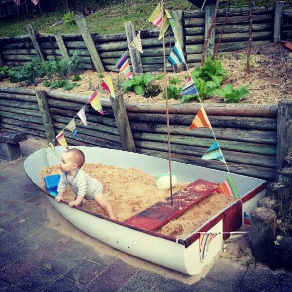 DIY Kid's Boat