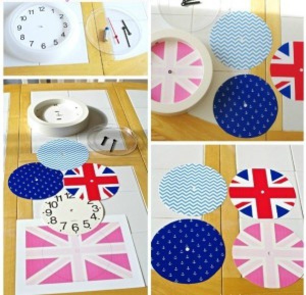 DIY Britain Clock