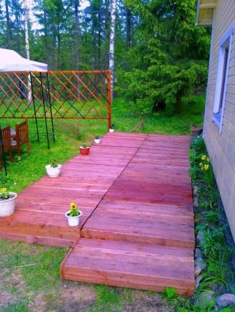 DIY Red Pallet Project