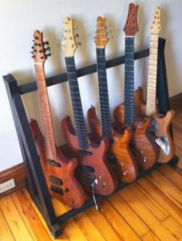 DIY Guitar Storage project