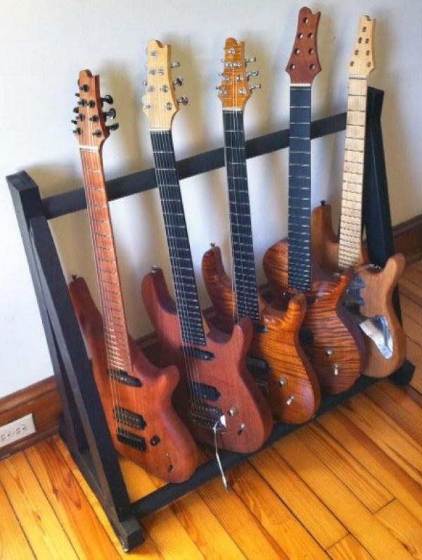 DIY Guitar Storage project