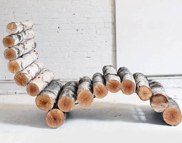 build your own branches chair