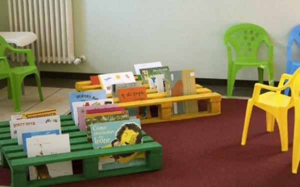Pallet Book Storage