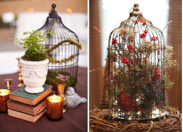 DIY Flowers Cage