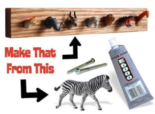 DIY Creative Holder For Keys
