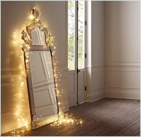 DIY Mirror Lamps Decor