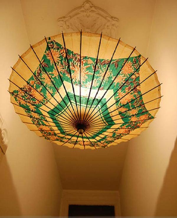 DIY Umbrella Light