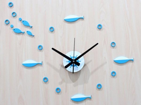 DIY Mediterranean Clock