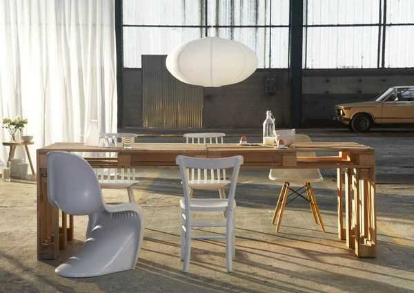 DIY Modern Kitchen Table