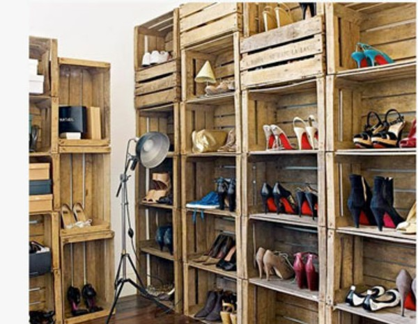 DIY Storage For Shoes
