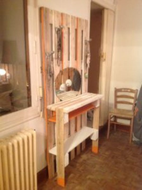 homemade furniture out of wooden pallets