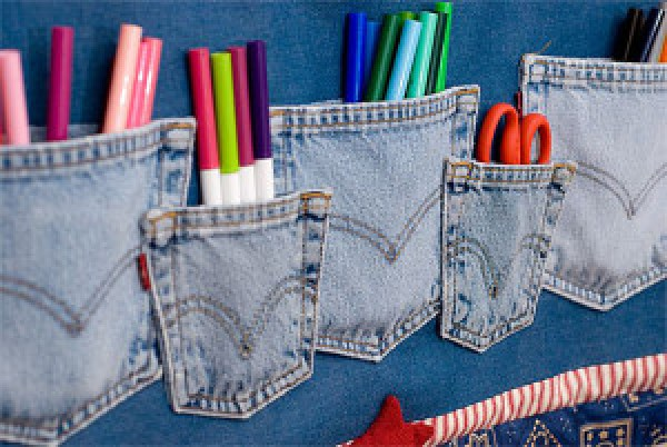 DIY Pencil Pocket
