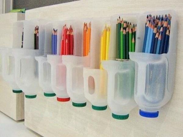 DIY Pencil Bottle Ideas