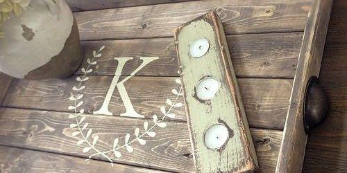 DIY Pallet Tray Of Wood