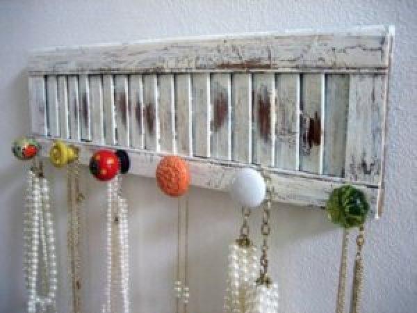 DIY Rustic White Window