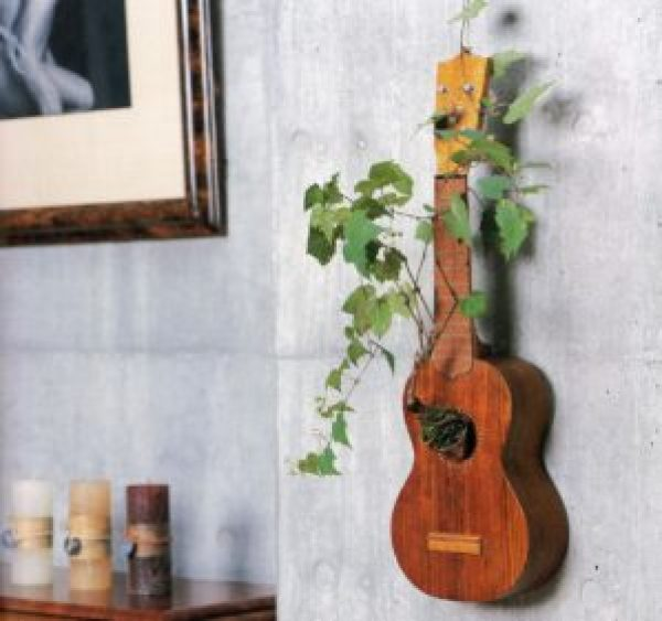 DIY Guitar Wall Decoration