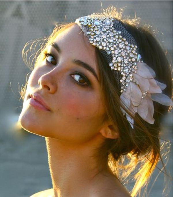 DIY Bride Headband