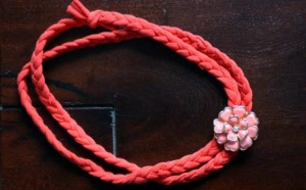 DIY Red Headband