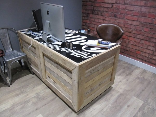 DIY Pallet Table Project
