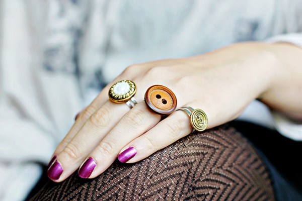 how to make Button RIng