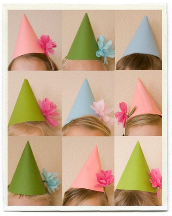 DIY Bday Creative Hats