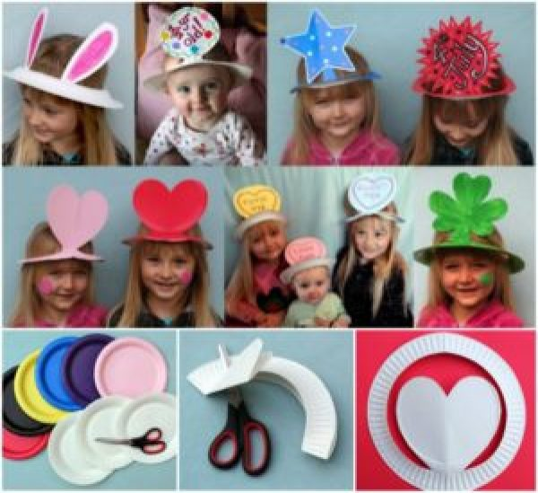 DIY Bday Hats